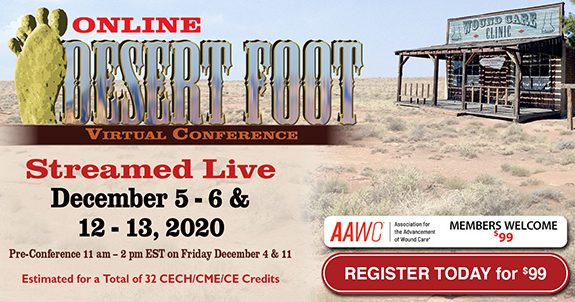 Desert Foot Online Conference 2020