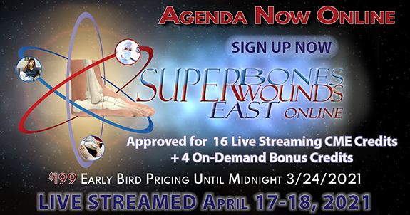 Superbones Superwounds East Online 2021
