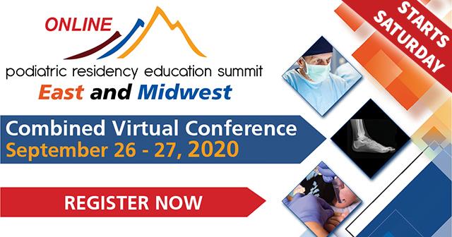 Podiatric Residency Summit Online 2020