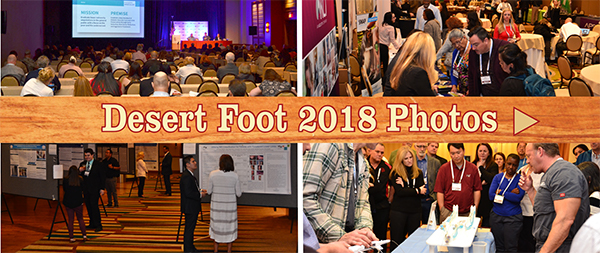 2018 Desert Foot Conference
